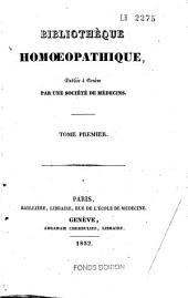 Bibliothèque homoeopathique