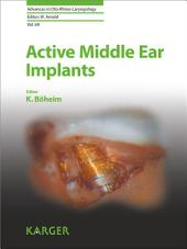 Active Middle Ear Implants