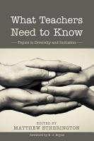 What Teachers Need to Know PDF