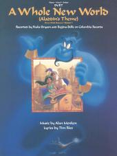 A Whole New World Sheet Music: Vocal Duet