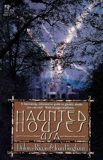 Haunted Houses U S A  PDF