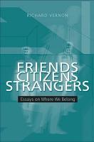 Friends  Citizens  Strangers PDF