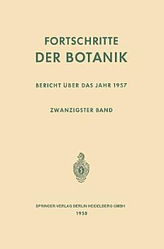 Fortschritte der Botanik PDF