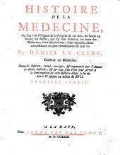 Histoire de la medecine ...