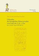 Urkunden der k  niglichen Palastverwalter vom Ende des 2  Jt  v  Chr PDF