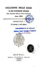 Collezione delle leggi e de' decreti reali del Regno delle Due Sicilie