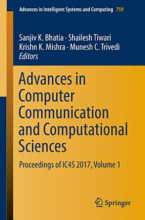 Advances in Computer Communication and Computational Sciences PDF