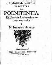 Tractatus de poenitentia
