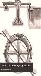 Traité de mécanique générale: comprenant les lecons professées à l'Ecole polytechnique, Volume5