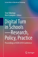 Digital Turn in Schools   Research  Policy  Practice PDF