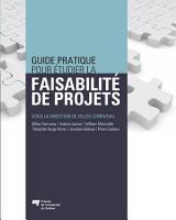 Guide pratique pour   tudier la faisabilit   de projets PDF