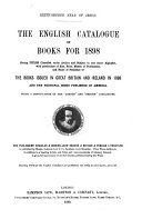 The English Catalogue of Books [annual]