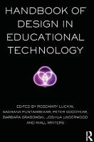Handbook of Design in Educational Technology PDF