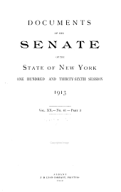Documents of the Senate of the State of New York: Volume 9; Volume 17; Volume 20; Volume 23; Volume 26; Volume 32