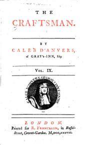 The Craftsman: Volume 9