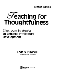 Teaching for Thoughtfulness PDF