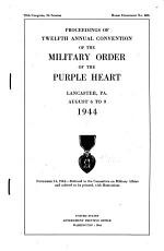 Proceedings of     Annual Convention of the Military Order of the Purple Heart PDF