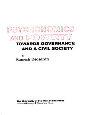 Psychonomics and Poverty PDF
