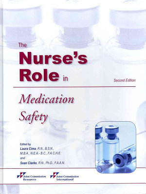 The Nurse s Role in Medication Safety PDF