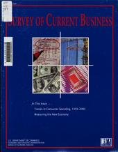 Survey of Current Business: Volume 81, Issue 3