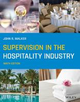 Supervision in the Hospitality Industry PDF