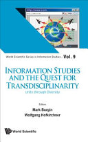 Information Studies and the Quest for Transdisciplinarity PDF