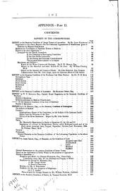 First [and Second] Report[s] of the Commissioners for Inquiring Into the State of Large Towns and Populous Districts: Volume 2, Part 2