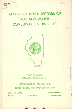 Handbook for Directors of Soil and Water Conservation Districts PDF