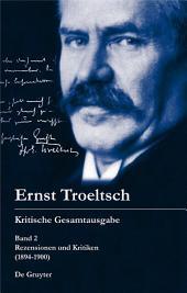 Rezensionen und Kritiken: (1894-1900)