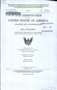 The Constitution of the United States of America PDF