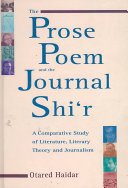 The Prose Poem and the Journal Shi  r PDF