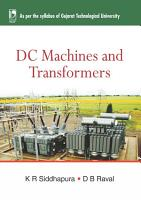 DC Machines and Transformers  For GTU  PDF
