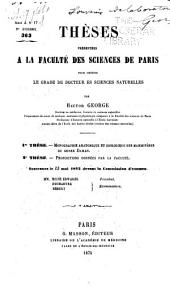 Monographie anatomique et zoologique des mammifères du genre Daman