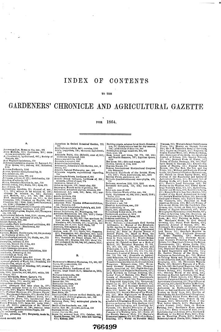 The Gardeners' Chronicle and Agricultural Gazette