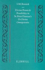 Divine Power and Possibility in St. Peter Damian's De Divina Omnipotentia