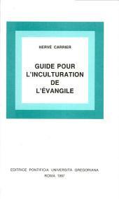 Guide pour l'inculturation de l'evangile