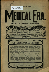 The Medical Era: A Practical Medical Magazine, Volume 14, Issue 5