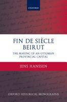 Fin de Si  cle Beirut PDF