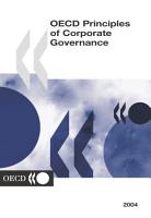 OECD Principles of Corporate Governance 2004 PDF