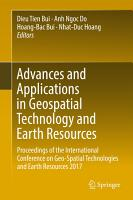 Advances and Applications in Geospatial Technology and Earth Resources PDF