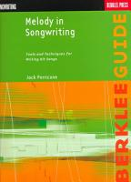 Melody in Songwriting PDF