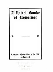 A Lyttel Booke of Nonsense