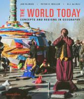 The World Today: Concepts and Regions in Geography, 7th Edition: Edition 7