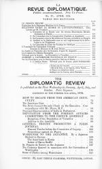 Diplomatic Fly-sheets