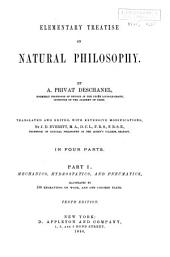 Elementary Treatise on Natural Philosophy: Part 1
