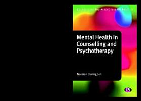 Mental Health in Counselling and Psychotherapy PDF