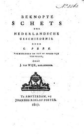 Beknopte schets der Nederlandsche geschiedenis
