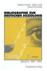 Bibliographie zur deutschen Soziologie PDF