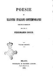 Poesie di illustri italiani contemporanei: Volume 2
