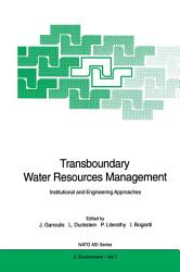 Transboundary Water Resources Management Book PDF